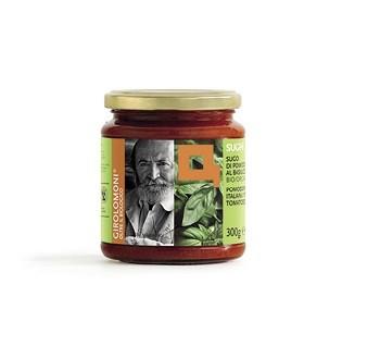 Tomaten/basilicum saus BIO 300gr. Girolomoni