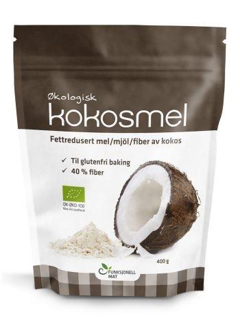 Kokosmeel BIO 400 gr. sukrin