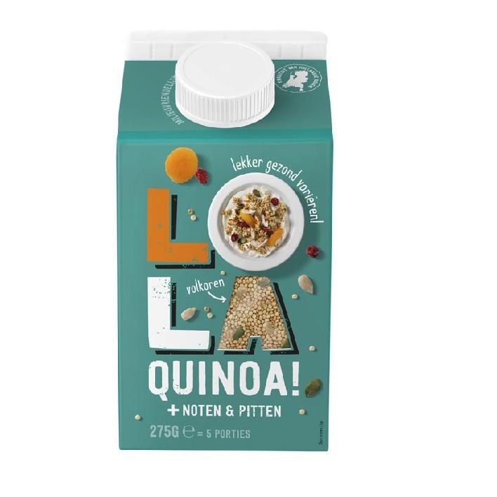 Lola Quinoa noten en pitten 275 gram