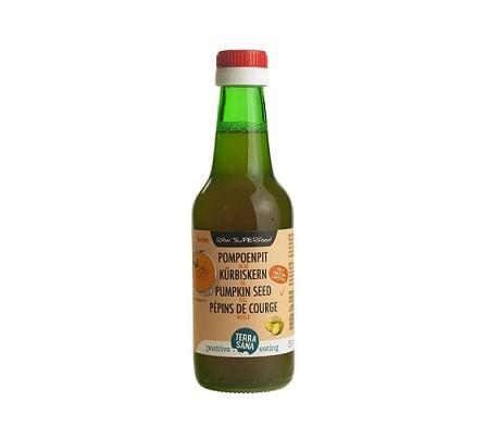 TerraSana RAW Pompoenpit Olie Koudgeperst 250 ml