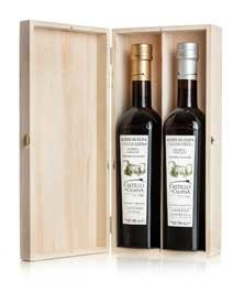 Giftbox Cadeau verpakking Family Reserve 2 vaks grenen