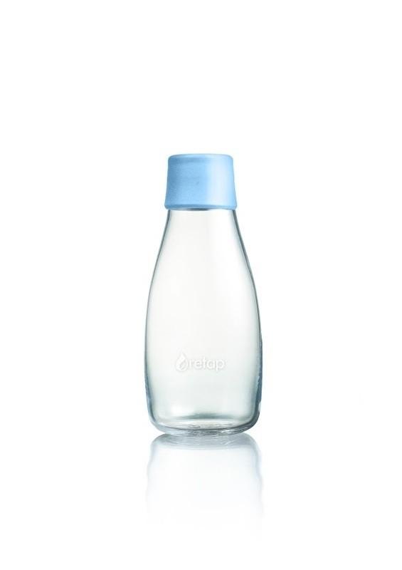 Waterfles glas 0.3ltr. Retap zonder dop