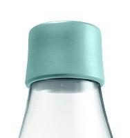 Waterfles met dop mintblauw 0.8ltr. Retap