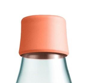 Waterfles met dop perzik 0.3ltr. Retap