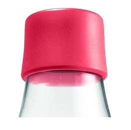 Waterfles met dop raspberry 0.8ltr. Retap