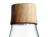 Waterfles met dop notenhout 0.8ltr. Retap