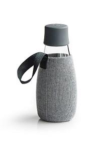 Beschermhoes voor waterfles grijs 0.3ltr. Retap
