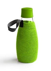 Drinkfles Retap beschermhoes 03 mos groen