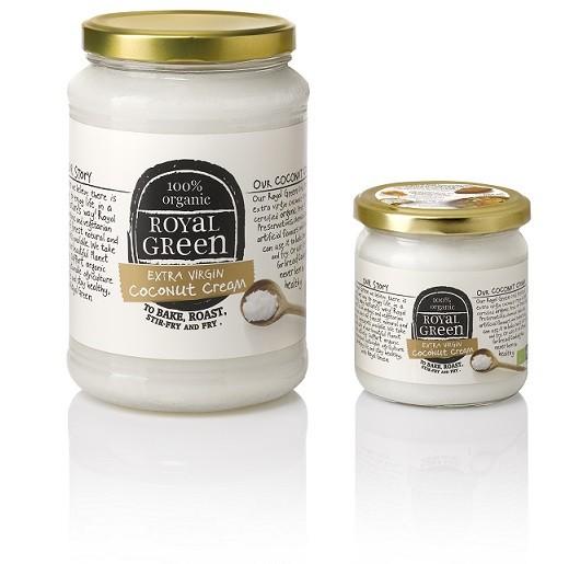 Royal Green kokosnoot kookroom Extra virgin 325 ml