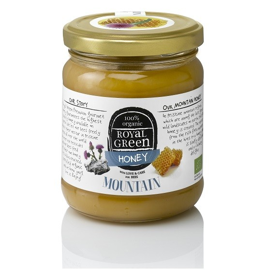 Royal Green mountain Honey 250 gr