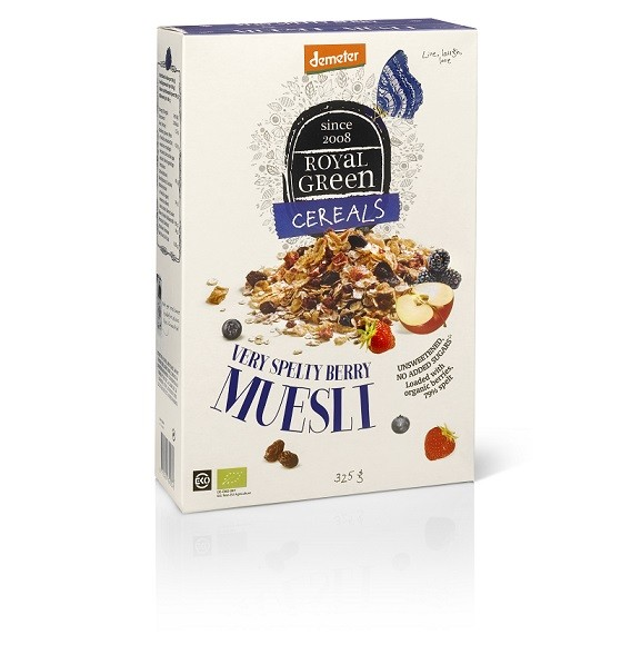 Royal Green Very Spelty Berry Muesli  325 gr