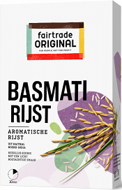 Basmatirijst 400gr. Fairtrade