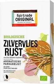 Zilvervlies rijst BIO 400gr. Fairtrade
