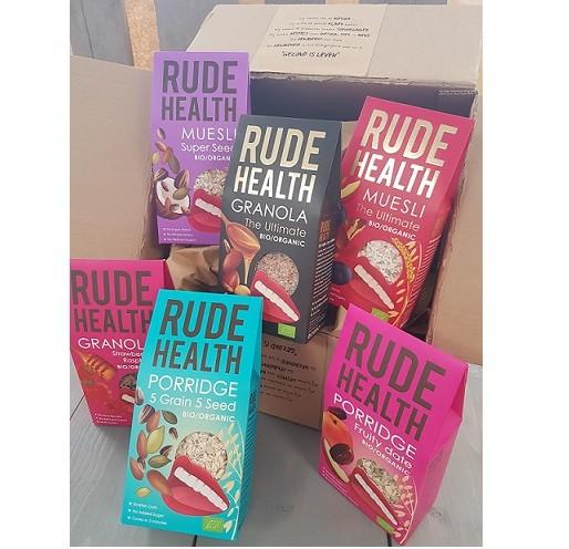 Rude Health geschenkpakket 6 verschillende smaken