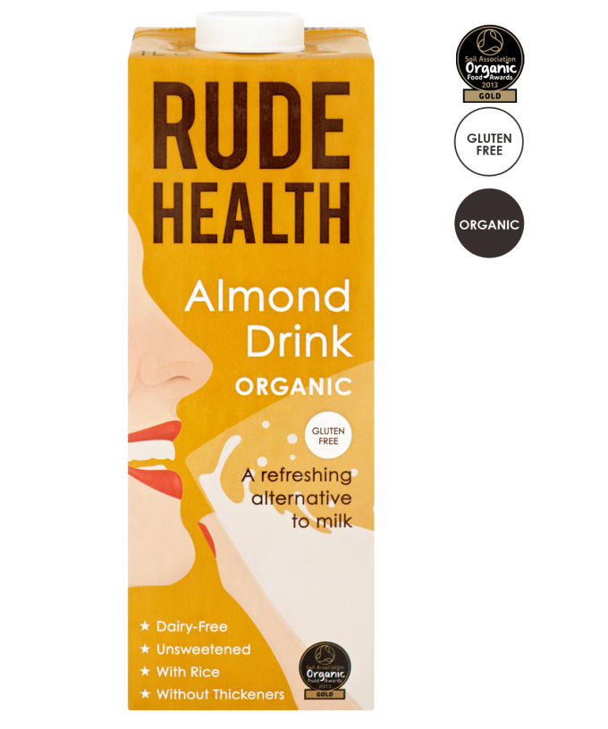 Amandeldrink / Almond drinke BIO 1ltr. Rude Health