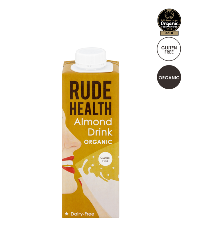 Amandeldrink / Almond drink BIO 250ml. Rude Health