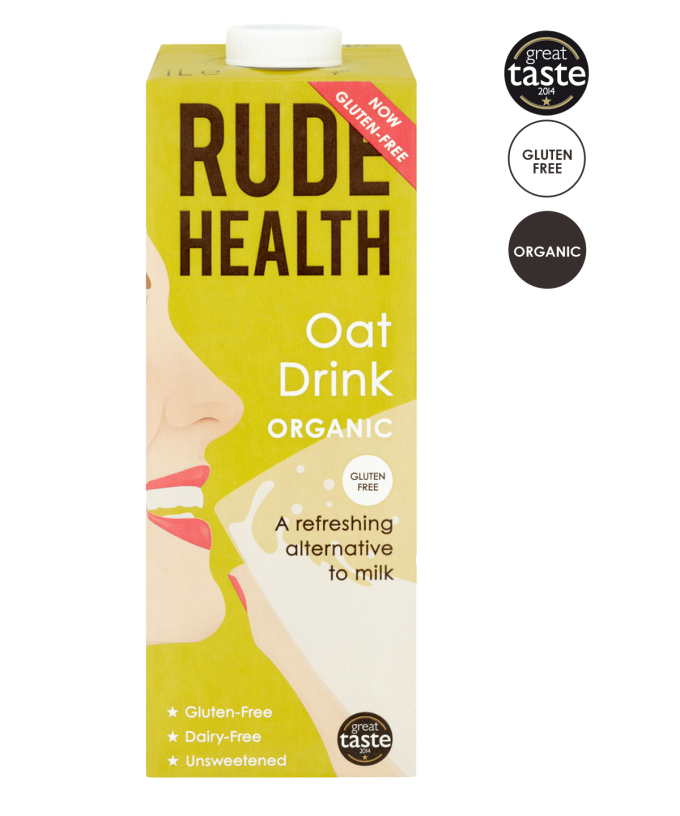 Haverdrink / Oat drink BIO  1ltr. Rude Health