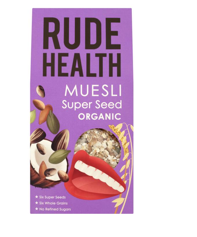 Rude Health Super Seed Muesli BIO 325 gr