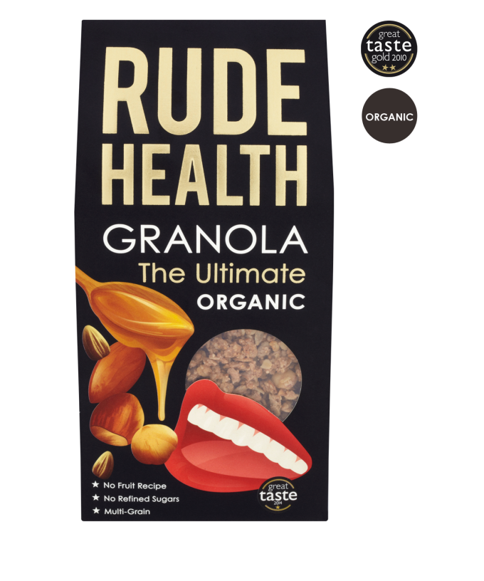 The ultimate Granola BIO 500gr. Rude Health