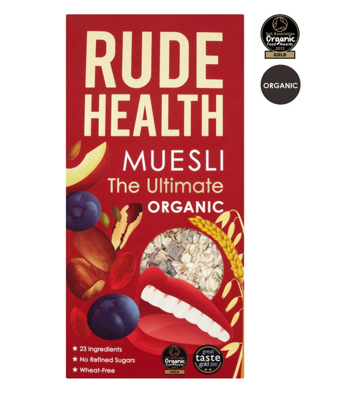 Muesli The Ultimate 500gr. Rude Health
