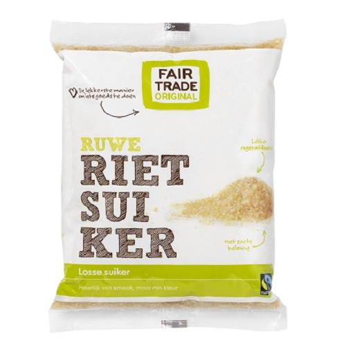 Fairtrade rietsuiker 500 gr