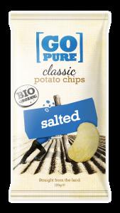Go Pure naturel BIO chips 125 gram