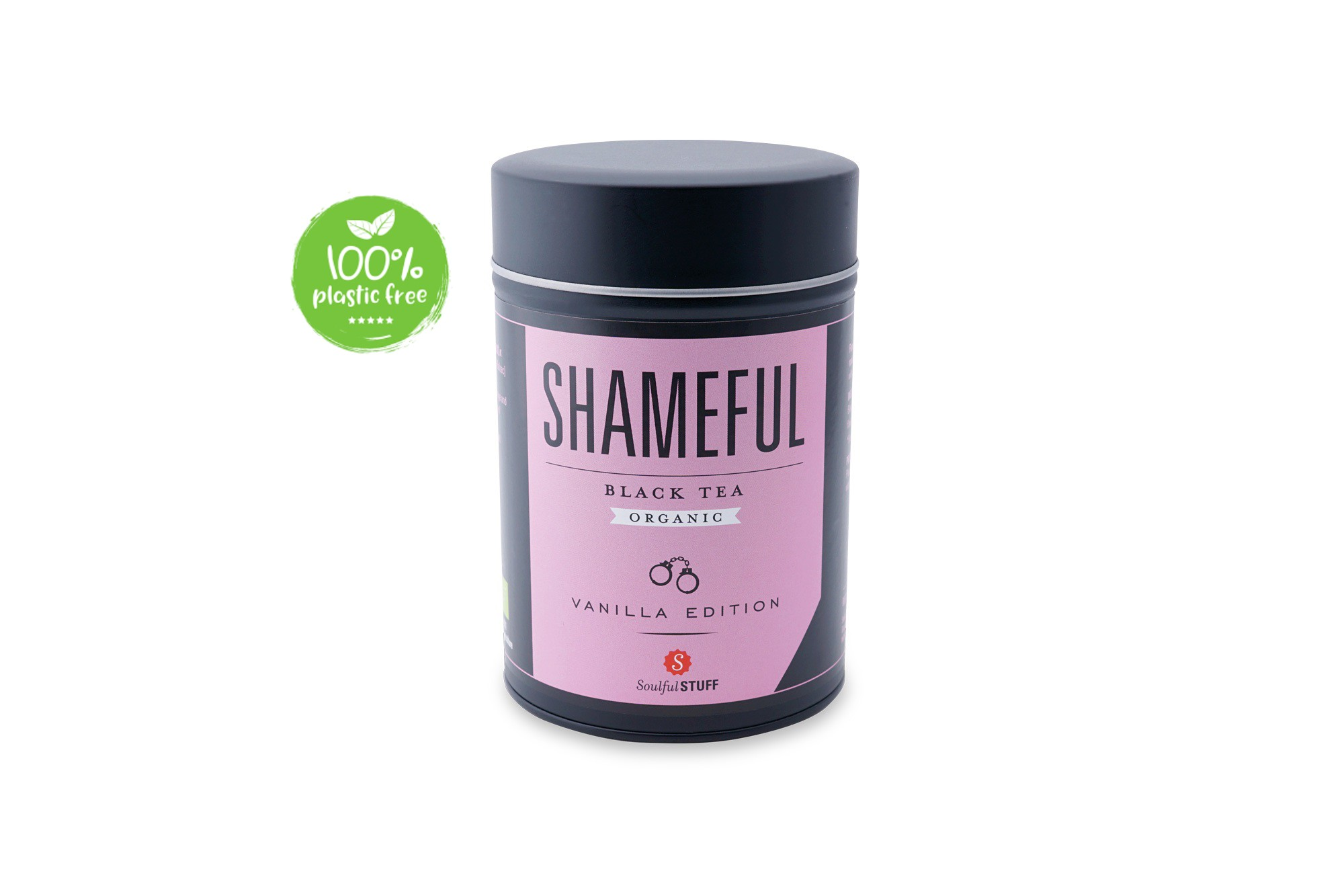 Shameful Black Tea Organic blik 120gr. Intertee