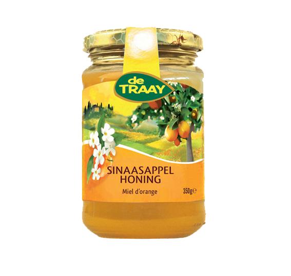De Traay Spaanse sinaasappel honing 350 gr