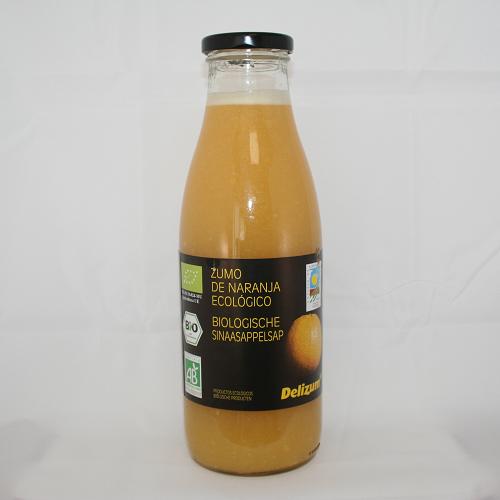 Sinaasappelsap BIO 750ml. Delizum