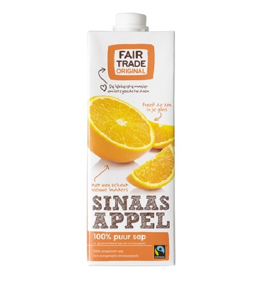 Sinaasappelsap 1ltr. Fairtrade