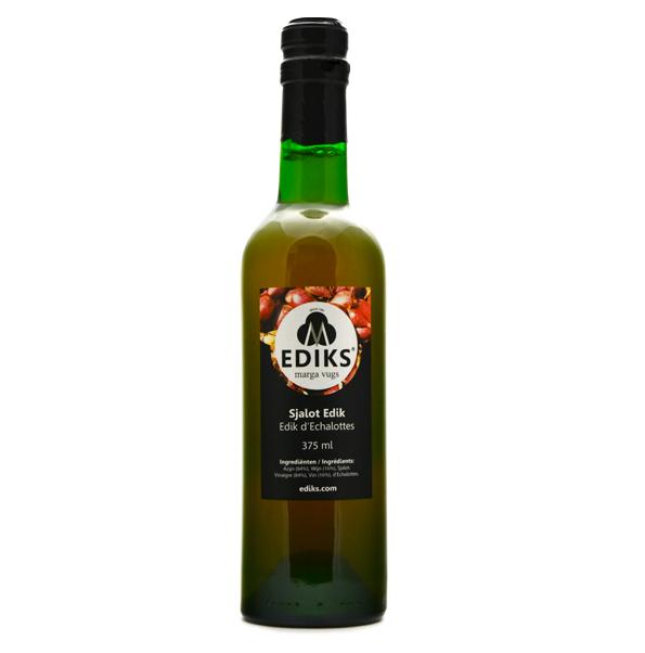 Ediks sjalot azijn 375 ml.