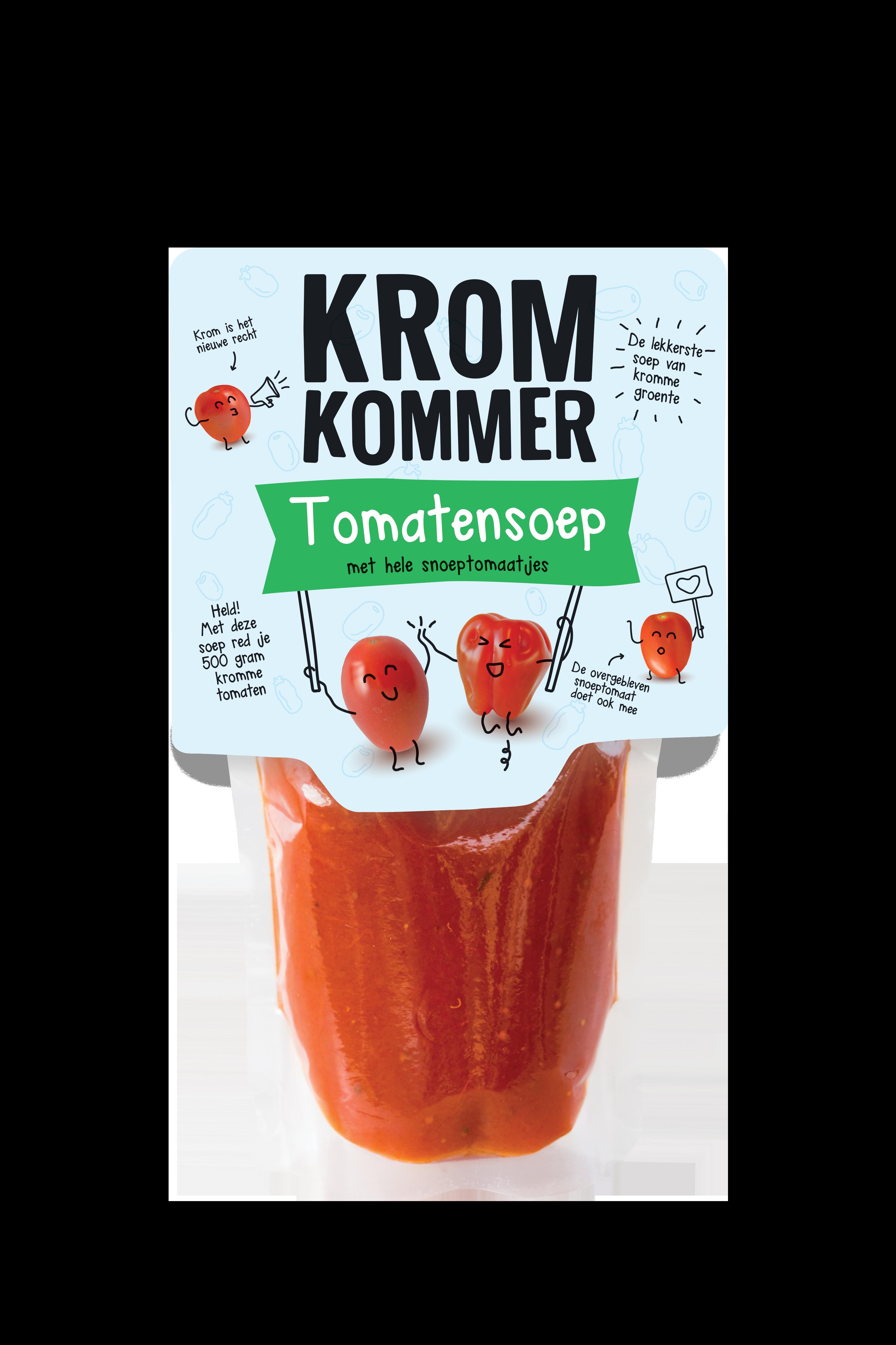 tomatensoep snoeptomaatjes kromkommer