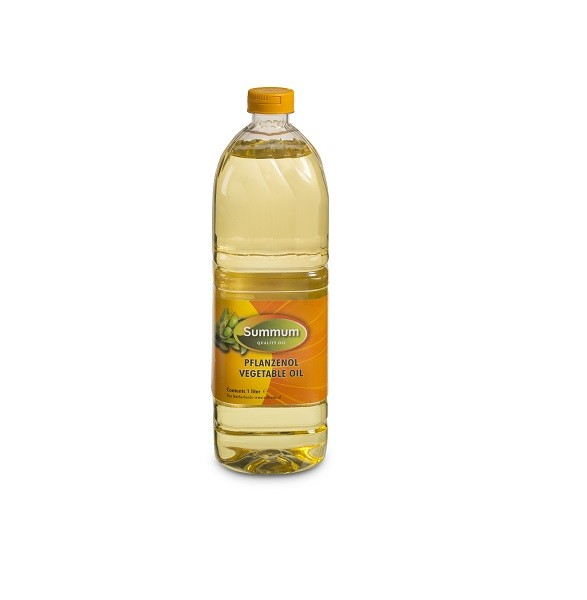 Summum sojaolie pet fles 1liter