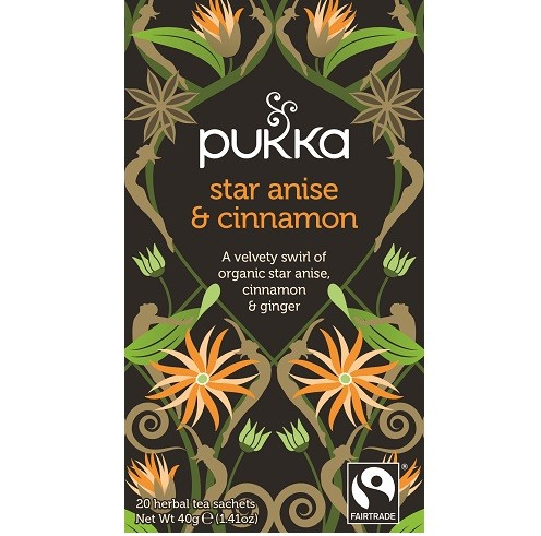 Pukka thee star anise cinnamon 20 x 2 gram