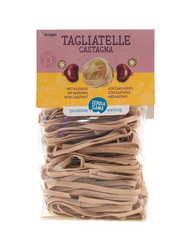 Pasta Tagliatelle Castagna 250gr. TerraSana