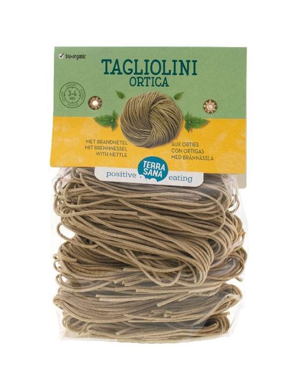 Pasta Tagliolini Ortica 250gr. TerraSana