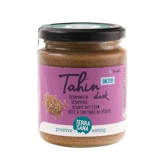 TerraSana Tahin dark-sesampasta met Himalayazout 250 gr