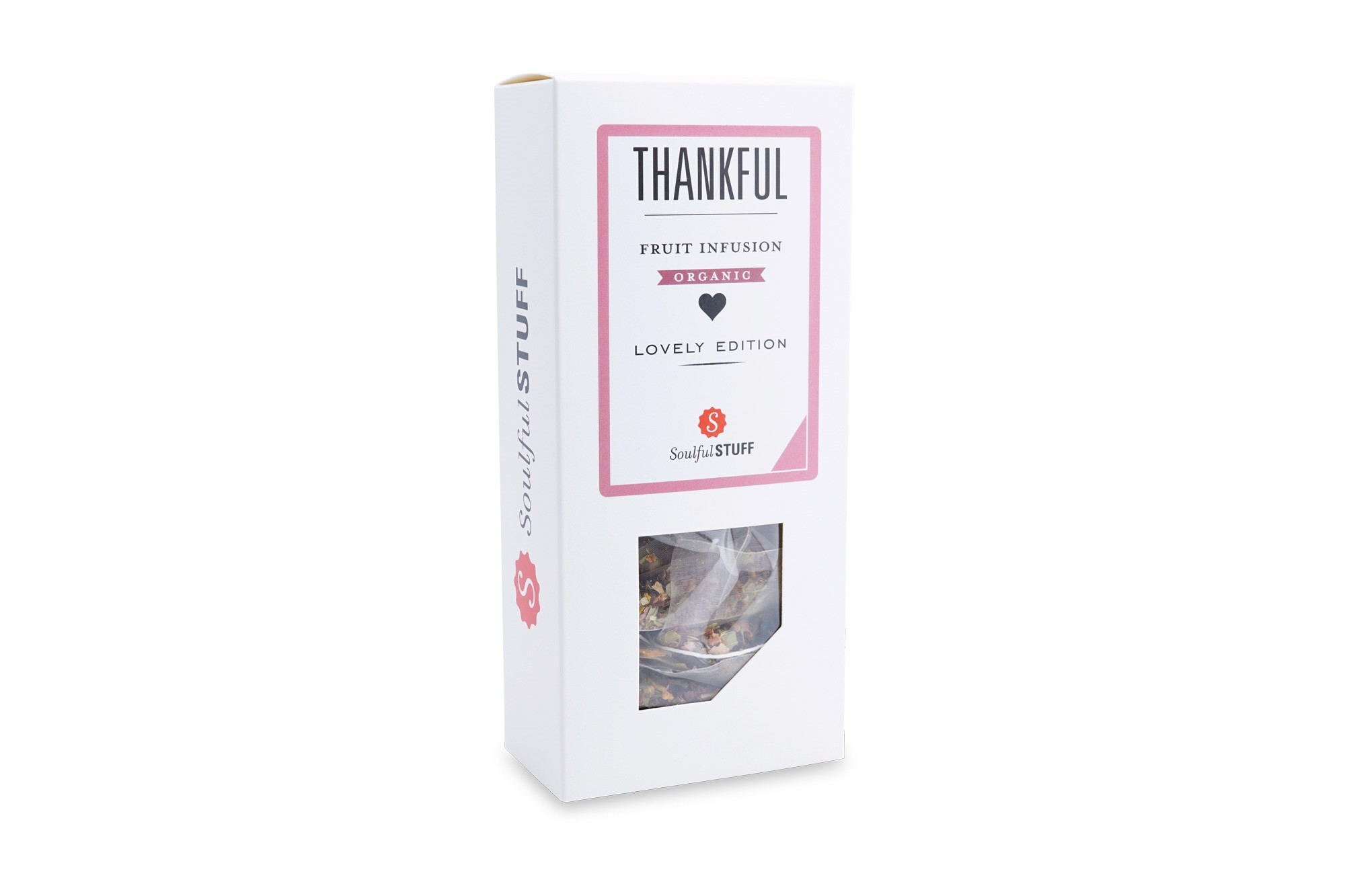 Thankful Fruit Infusion Organic zakjes 3gr. 15st. Intertee
