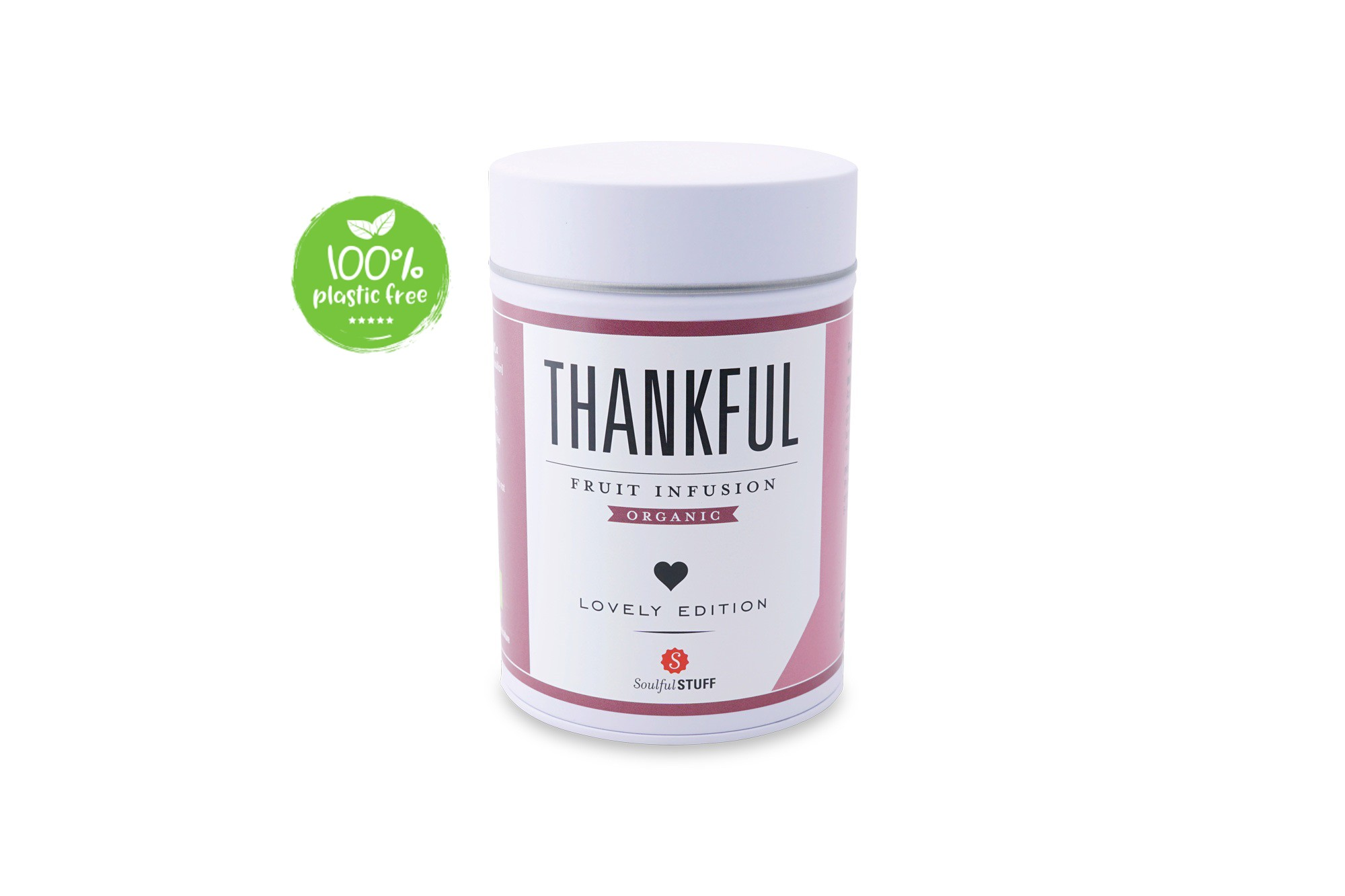 Thankful Fruit Infusion Organic blik 130gr. Intertee