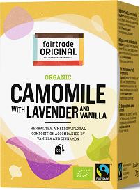 Thee Kamille lavendel BIO 35gr 20x1,75gr. Fairtrade