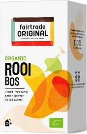 Thee Rooibos BIO 35gr 20x1,75gr. Fairtrade