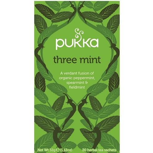 Pukka thee three mint 20 x 2 gram