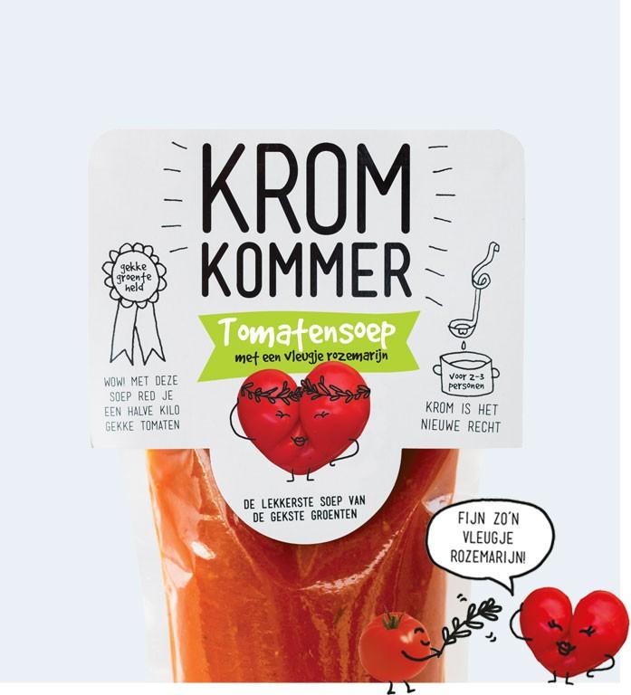Kromkommer Tomatensoep rozemarijn 570 ml