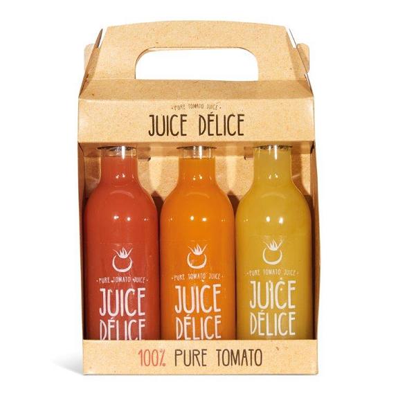 Juice Délice tomatensap 3 fles