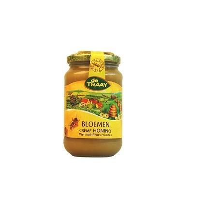 De Traay bloemen creme honing 450 gr