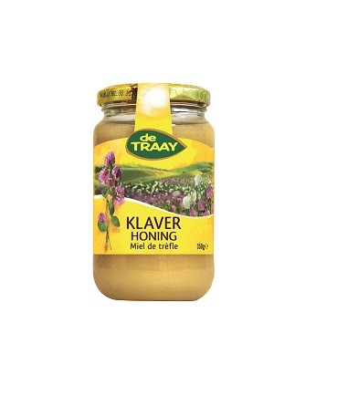 De Traay klaver creme honing 350 gr