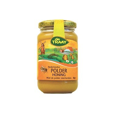 De Traay polder honing EKO 450 gr