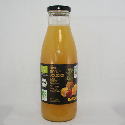 Delizum Tropicalsap BIO 750 ml