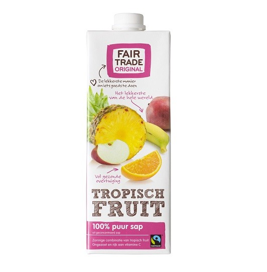 Fairtrade tropisch sap 1 liter