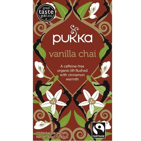 Pukka thee vanilla chai 20 x 2 gram